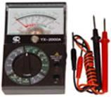 Прибор YX-2000A Sunwa стрелочный. в поисковых системах.  Красдизайн.